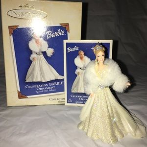 2003 Hallmark Celebration Barbie Ornament